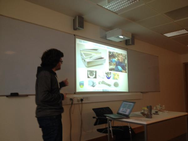 10-04-2015 - Inaugural Interdisciplinary 3D Modelling Journal Club 1